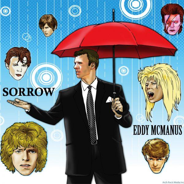 eddy mcmanus tribute to david bowie sorrow