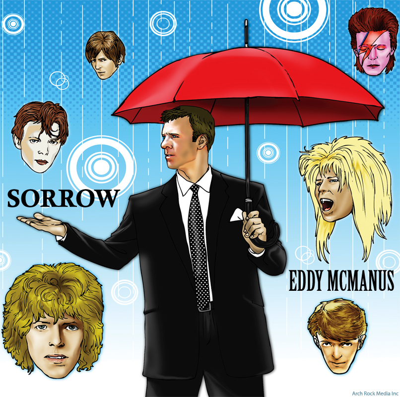 eddy mcmanus tribute to david bowie sorrow
