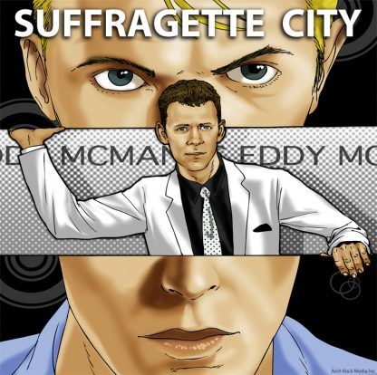 eddy mcmanus album cover suffragette city