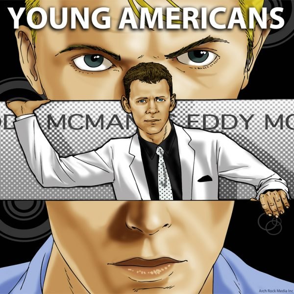 eddy mcmanus album cover david bowie young americans