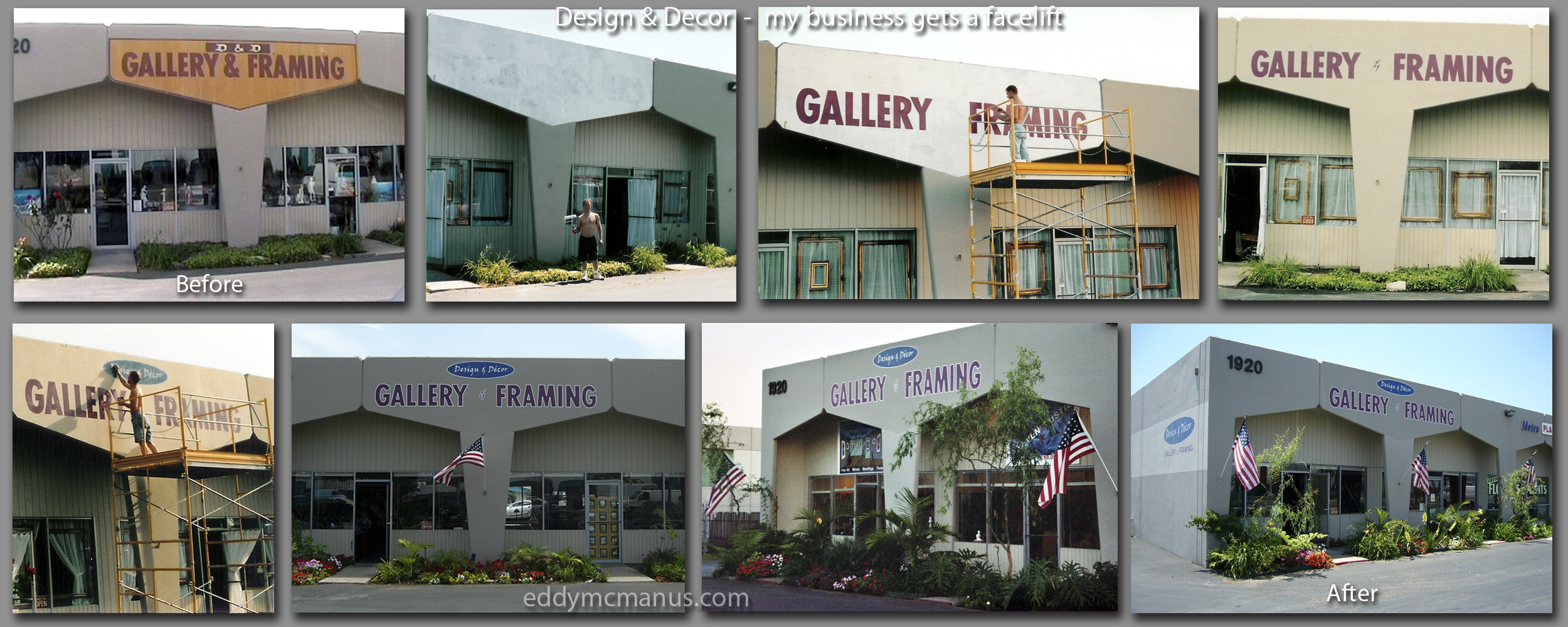 Design & Decor Exterior Before & After