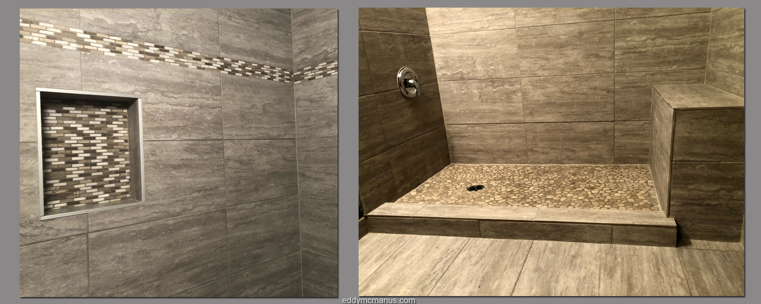 After Construction - Images of Completed Tub Enclosure Remodel