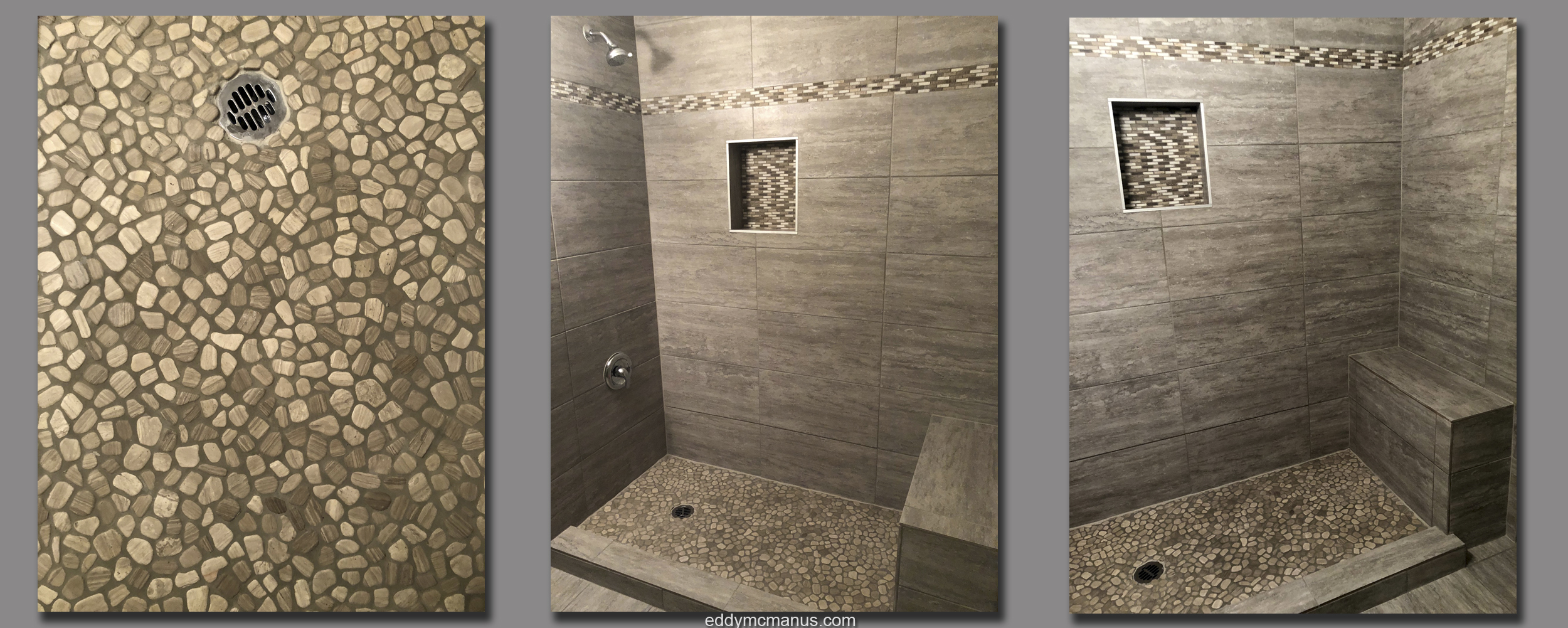 Finished After Construction - Images of Completed Tub Enclosure Remodel